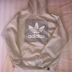 Tan adidas hoodie